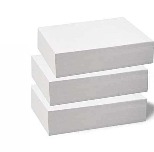 Papel Bond Reciclado Ecologico 1500 hojas tamaño carta. 3 paquetes de 500, Excelente Blancura...