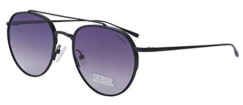 Guess Sonnenbrille GF5019-02B-54 Gafas de sol, Negro (Schwarz), 54.0 Unisex Adulto