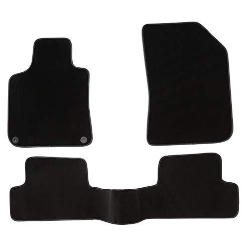 DBS Tapis de Voiture - sur Mesure pour 308 (2013-2020) - 3 pièces - Tapis de Sol antidérapant pour Automobile - Moquette Premium