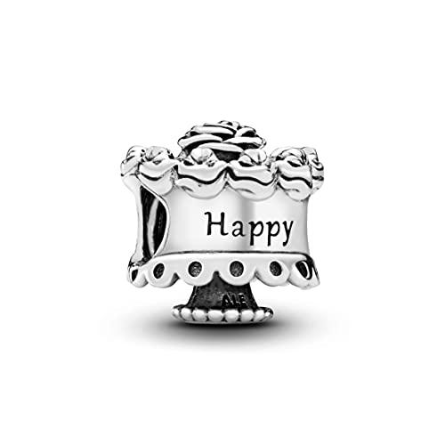 Pandora Moments Geburtstagskuchen Charm Happy Birthday Sterling Silber 791289