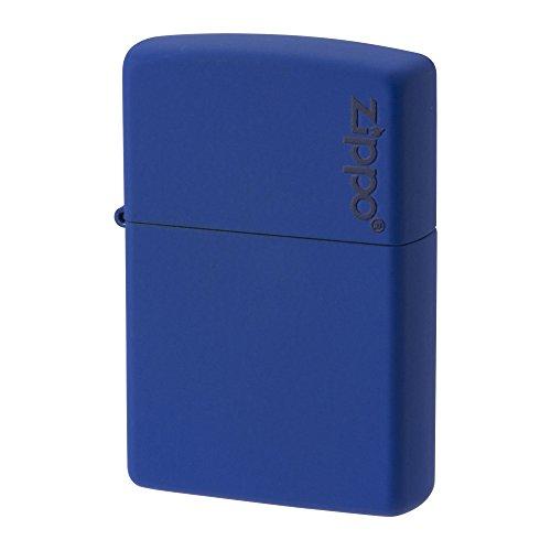 ZIPPO ジッポー ライター ロゴ マット ブルー 229ZL
