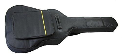 Mayfield Plaza Funda de Guitarra Clásico de la Bolsa de la Guitarra Acústica Acolchada 41 Pulgadas Negro
