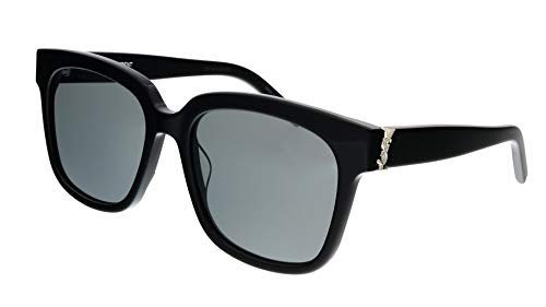 SAINT LAURENT Gafas de Sol SL M40 BLACK/GREY 54/18/140 mujer
