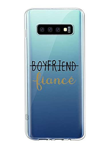 Suhctup Funda Creativo Transparente Compatible con Samsung Galaxy J1 Ace, contra Caídas Funda Marco TPU Suave Ultrafina a Prueba Golpes Ligera Duradera Diseños Patrones Texto Cover Protectora