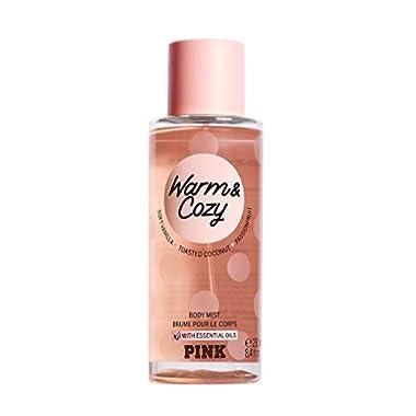 PINK/VICTORIAS SECRET Collection Warm & Cozy Body Mist New Women's Fragrance Perfume 8.4 OZ. Warm with Soft Vanilla…