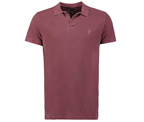 Tony Brown Herren Poloshirt rot 3XL