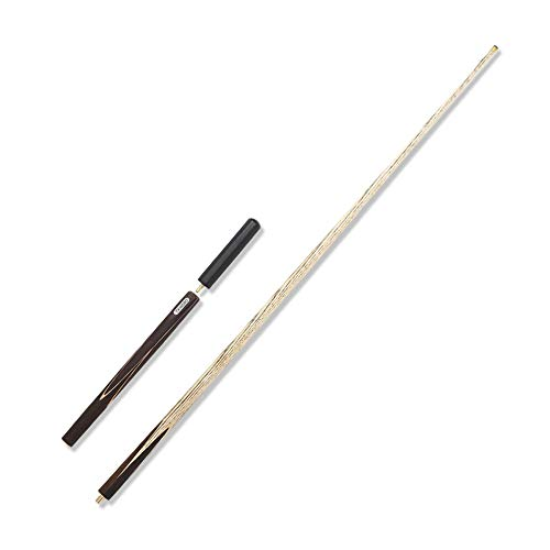 SSHHM Ash Pool Queue, 57 Zoll Billiard Queue, 3/4 Snooker Split Queue, mit Verlängerungsgriffen, mit 10 mm Kopf Verein/A / 145cm