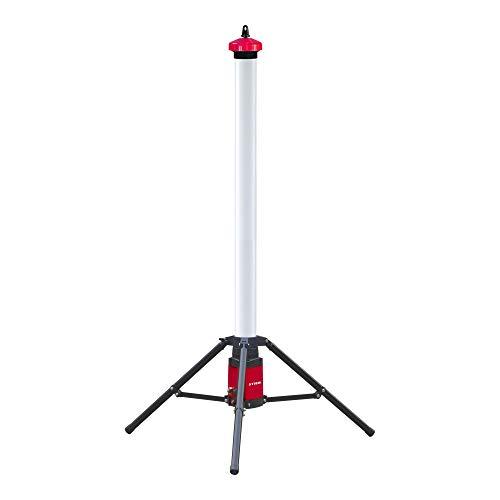 STIER Akku SMD LED Baustrahler 360° Tower, 3050 Lumen, 36 W, LED Arbeitsleuchte, Baulampe, Baustellenlampe, Baustellenstrahler