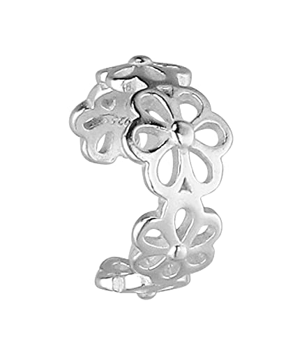 SIX Earcuff 619-968 - Pendientes de plata 925 para mujer