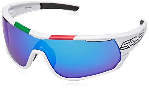 Salice 016ITA - Gafas de Ciclismo, Color Blanco, Talla única