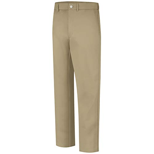 Bulwark FR 9 Oz Twill Cotton Khaki Welding Pants