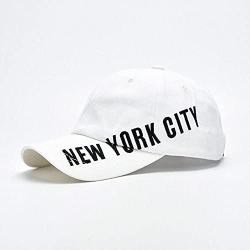 CHENGGI Gorras De Hombre Gorra de béisbol Verde Fluorescente de Moda Mujeres Hombres Color Brillante Nueva York Gorras de Hip Hop Summer Street Snapback Trucker Hat