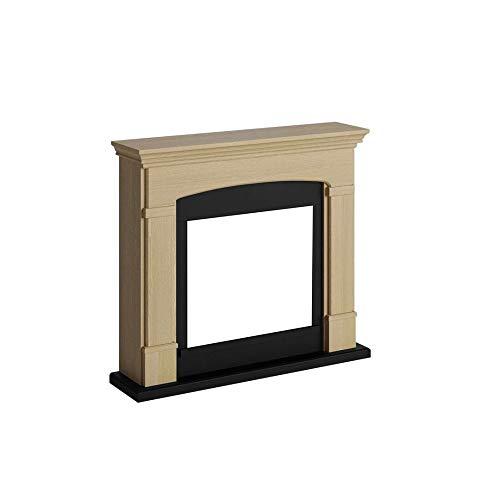 Tagu FM463-OA1 Marco decorativo de madera Helmi Rovere para chimenea eléctrica empotrada Dimensiones LxAxA 107,2x24,5x95,2 cm
