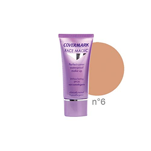 Maquillaje resistente al agua Face Magic de Covermark, 30ml