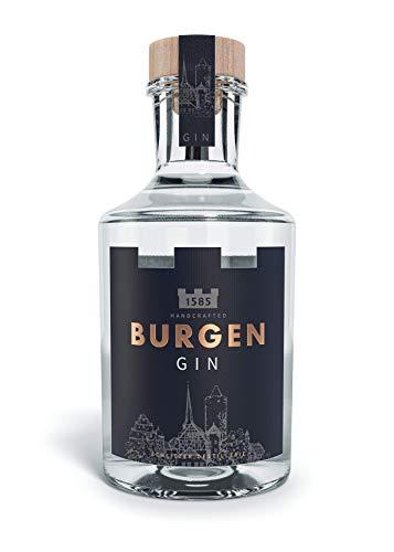 Burgen Herbal Dry Gin intensiver Kräuter Gin 45% vol. (1 x 0,5l)