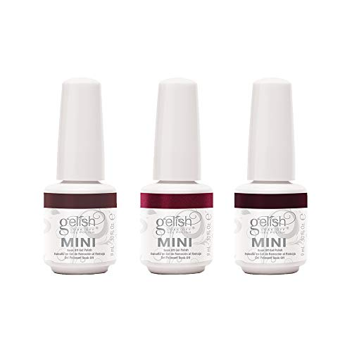 Gelish Mini Marilyn Color Collection 9 mL Soak Off Gel Nail Polish Set, 3 Color Pack with Marilyn Monroe Inspired Colors