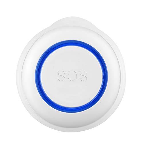 Tuya WiFi alarma inalámbrica inteligente, botón Sos, sensor inalámbrico inteligente, botón de llamada de enfermería inalámbrico, alarma para el hogar, interruptor de alarma para pacientes mayores