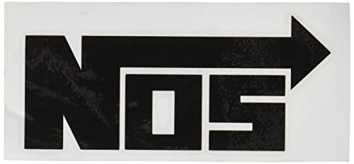 NOS Black Automotive Brands Automotive Decal/Bumper Sticker