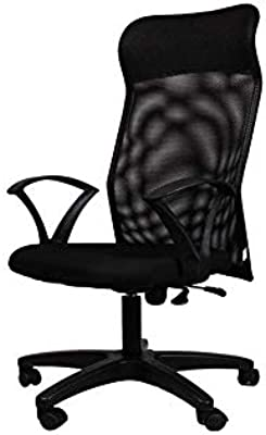 Nice Goods Net High Back Executive/MD/BOSS/Conference/Study Room Chairs for Office/Home (Black)