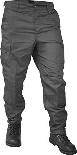 normani US Rangerhose Freizeithose BDU Hose Farbe Grau Größe L