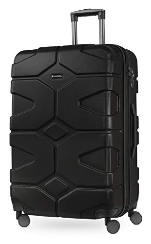 Hauptstadtkoffer - X-Kölln Hartschalen Reisekoffer, 76 cm, 120 Liter, Schwarz matt