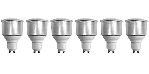 8722 LED 3.5W Opaque Spot L1/GU10 Cap (2886, 2884 & 2318 Replacement) *6 Pack Bundle*