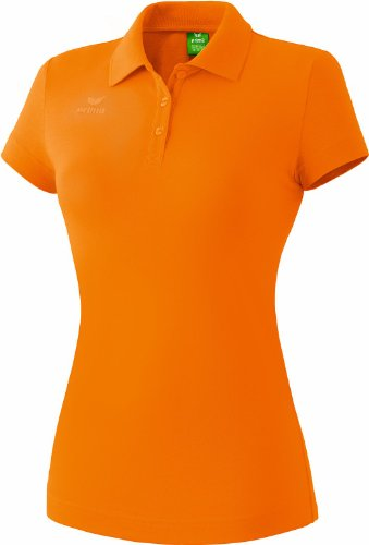 erima Damen Teamsport Poloshirt, orange, 38