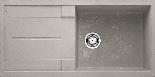 Blanco Metra XL 6 S SILGRANIT® PuraDur® beton, ohne Ablauffernbedienung InFino® 525316
