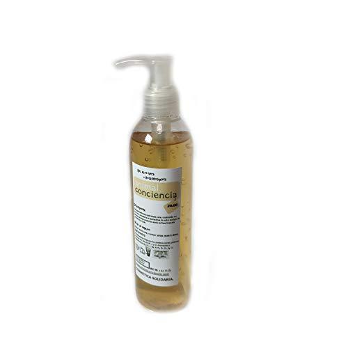 Gel aloe vera puro con aceite de rosa mosqueta para cara y cuerpo aloe vera puro canario 250ml