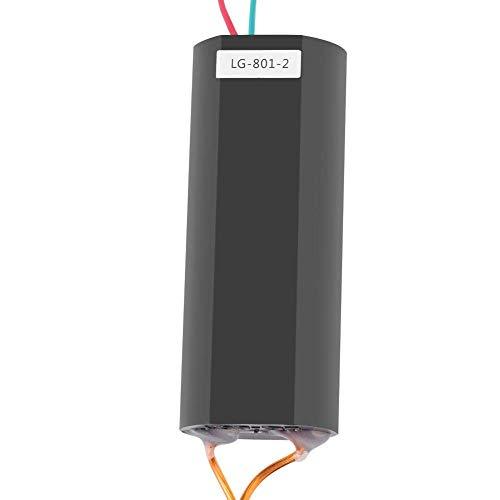 DC 6~12V a 1000KV Transformador de alto voltaje Amplificador elevador de arco Generador de impulsos de arco Módulo de alimentación negro