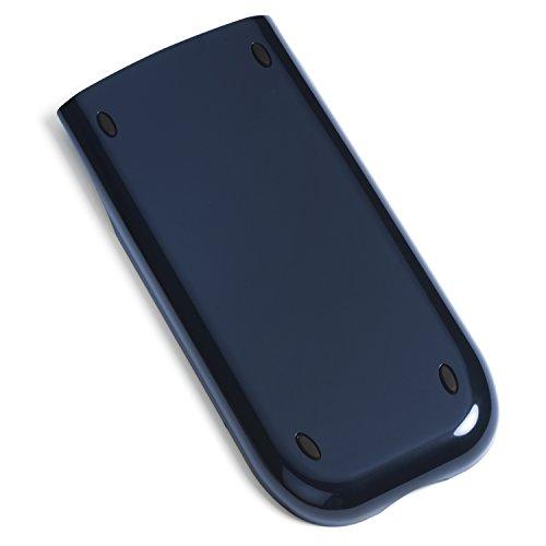 Amped Electronics - Dark Blue - Replacement Slide Cover fits Texas Instruments TI-84 Plus, TI-84 Plus Silver Edition, TI-89 Titanium - Top Grade OEM Quality Case