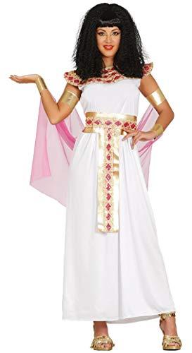 Guirca Disfraz de Diosa Egipcia para Mujer Talla M