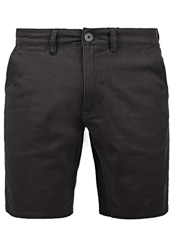 Blend Pierre Herren Chino Shorts Bermuda Kurze Hose mit Stretchanteil, Größe:S, Farbe:Ebony Grey (75111)