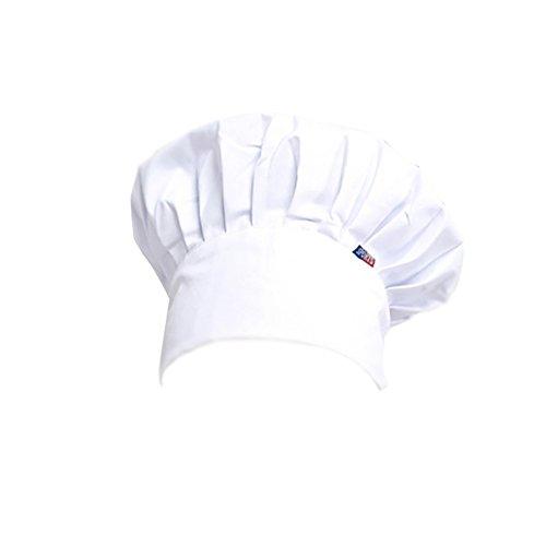 Dosige Sombrero de Chef Hotel Servidor Cocina Suministros de repostería Sombrero en...