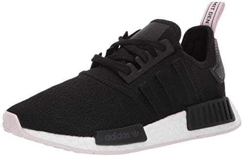 adidas Originals Women's NMD_R1 Running Shoe, Black/Black/Orchid Tint, 7 M US