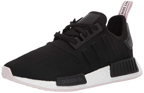 adidas Originals Women's NMD_r1 Running Shoe, Black/Black/Orchid Tint, 10 M US