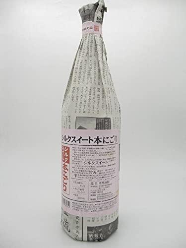白金酒造 シルクスイート 本にごり 芋焼酎 31度 1800ml