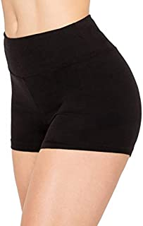 Women Workout Yoga Shorts - Premium Buttery Soft Solid...