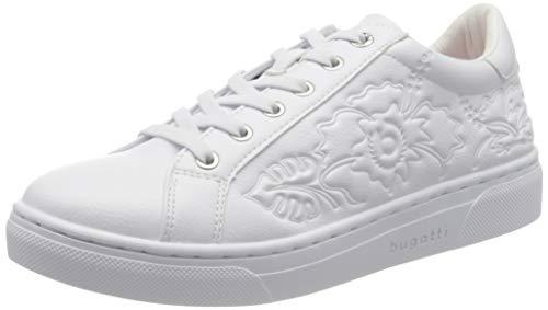 bugatti Damen 431877045000 Sneaker, Weiß (White 2000), 39 EU