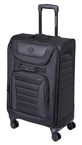 """Harley-Davidson 27"""" Onyx Quilted Pullman Wheeled Luggage - Black 99226-BLK (27"""") Connecticut"""