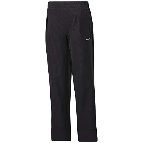 Reebok Classic TS Cropped Wide - Pantalón deportivo para mujer, color negro negro S