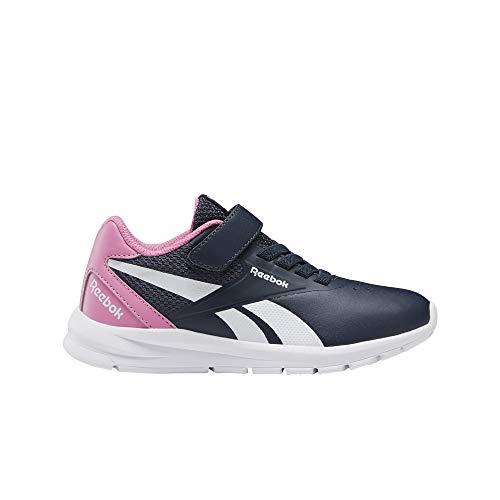 Reebok Mädchen Rush Runner 2.0 Syn Alt Sneaker, Mehrfarbig (Maruni/POSPNK/Weiss), 30 EU