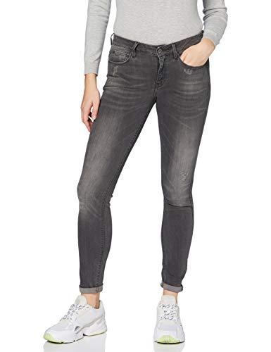G-Star RAW Damen Jeans 3301 Mid Waist Skinny, Medium Aged, 27W / 32L