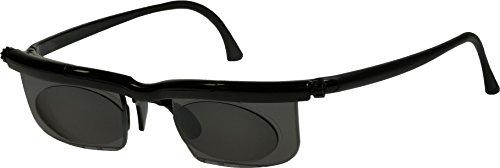 Adlens Sonnenbrille mit Sehstärke für Nah- Mittel- und Fernsichtbereich Lesebrille/schwarz / -2.75 Dioptrien