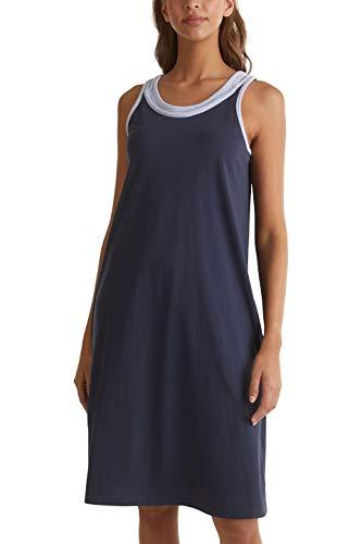 ESPRIT Bodywear Damen DRIFA CAS NW Nightshirt Nachthemd, 401, 36