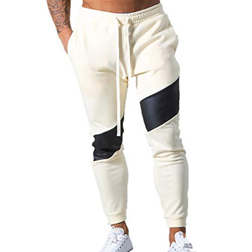 N\P Casual Pantalones Flaco Hombres Pantalones Deportivos Otoño Correr Pantalones Deportivos Hombre Algodón Pista Gimnasio