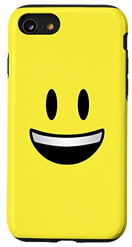 iPhone SE (2020) / 7 / 8 Emoji Smiley Face Big Grin Happy Yellow Case