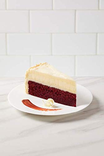 """The Cheesecake Factory 10"""" Red Velvet Cake Cheesecake 12 Slices (Pack of 2)"""