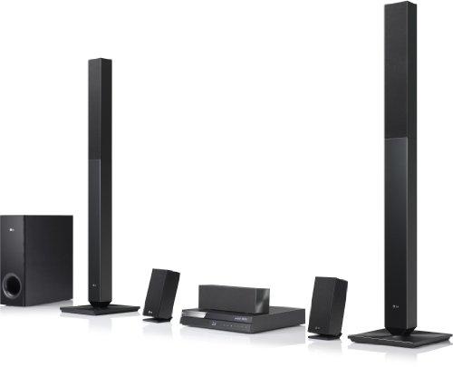 LG Electronics BH6420P 3D-Blu-ray 5.1 Heimkinosystem (850 Watt, DLNA) schwarz