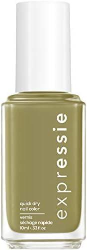 essie expressie Quick Dry Vegan Nail Polish Olive Green 320 Precious Cargo Go 0 33 Ounces product image